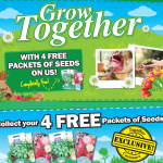 Free Vegetable Seeds From The Works - Gratisfaction UK