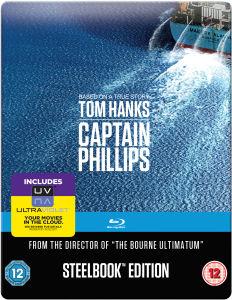 Bargain Captain Phillips Mastered In 4k Steelbook Edition