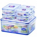 HALF PRICE Lock & Lock Food Storage Set 6 Piece £12.80 delivered at Amazon - Gratisfaction UK