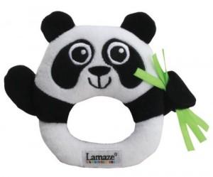 Lamaze Contrast  Panda Rattle £3 At Amazon Gratisfaction UK Flash Bargains