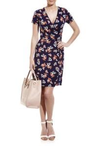 Matalan Floral Print Wrap Dress £16 Gratisfaction UK Flash Bargains
