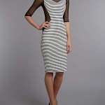 SIZES 8 & 10 ONLY Jolie Moi Striped Bodycon Dress WAS £27.99 NOW £12 at House of Fraser - Gratisfaction UK
