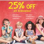 Tesco kids clothing 25% off all items including sale & uniform - Gratisfaction UK