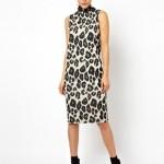 ASOS Midi Dress In Oversized Animal Print BARGAIN Was £30 Now £9 Delivered at ASOS - Gratisfaction UK