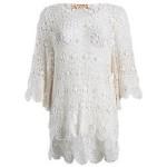 BARGAIN One Size Amaya Ivory floral crochet boho top was £30 NOW £10 at Debenhams - Gratisfaction UK