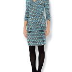 BARGAIN Ladies Episode Tile Print Long Sleeve Dress was £69 NOW £20.50 at House of Fraser - Gratisfaction UK