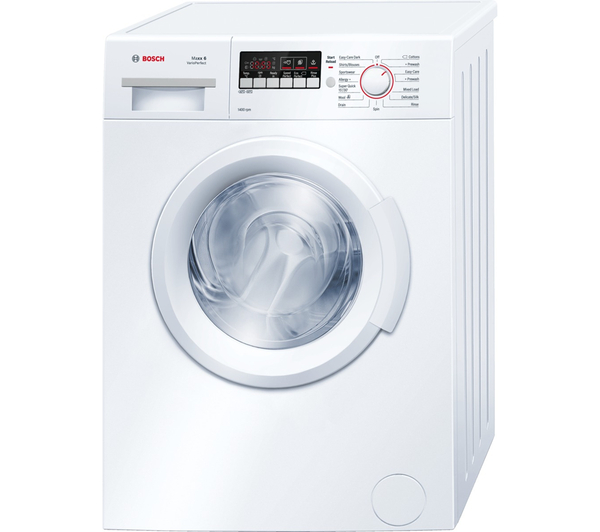 bargain bosch wab28261gb washing machine white just 298. Black Bedroom Furniture Sets. Home Design Ideas