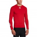 BARGAIN Canterbury Men's Baselayer Cold Long Sleeve Top – Red – Medium WAS £30 NOW £8.46 At Amazon - Gratisfaction UK