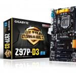 BARGAIN Gigabyte Z97P-D3 Intel LGA1150 Z97 ATX Motherboard JUST £58.99 At Amazon - Gratisfaction UK