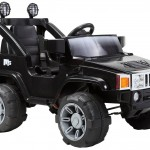 BARGAIN Hummer Jeep Style Kids Ride On with Rechargeable Battery in Black was £141.99 NOW £63.90 at Amazon CHEAPEST EVER PRICE - Gratisfaction UK