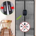 BARGAIN Magnetic Flying Insect Door Screen £4.90 at Amazon - Gratisfaction UK