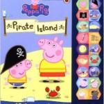 BARGAIN Peppa Pig: On Pirate Island Sound Hardcover Book £5.20 at Amazon - Gratisfaction UK
