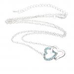 BARGAIN Womdee Heart to Heart Crystal Rhinestone Pendant JUST £0.79 At Amazon - Gratisfaction UK