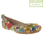 BARGAIN Womens Hush Puppies Janessa Floral Flats were £50 NOW £34.99 delivered at Schuh - Gratisfaction UK