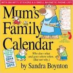 BARGAIN Mums Family Calendar 2015 Book JUST £7.32 At Amazon - Gratisfaction UK