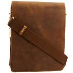 BARGAIN Visconti Men's Leo Messenger Bag Tan WAS £59.99 NOW £18 At Amazon - Gratisfaction UK