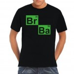 BARGAIN Men's T-Shirt Breaking Bad BR BA Heisenberg Principle FROM JUST £5.12 At Amazon - Gratisfaction UK