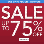 BARGAIN 75% Off Sale Now On At Claires