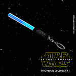 FREE Star Wars LED Lightsaber Keyring