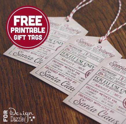 Free santas christmas printable gift tags gratisfaction uk negle Images
