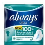 FREE Always Ultra Normal Pads - Gratisfaction UK