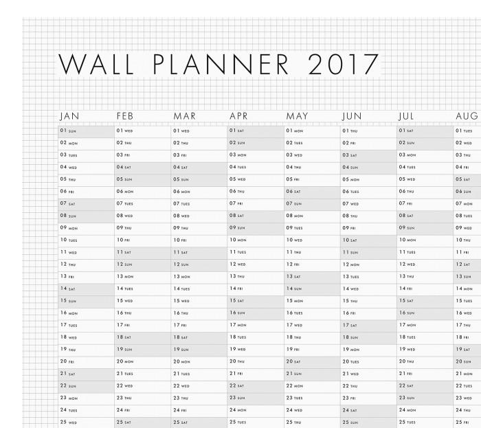 FREE Horslyx 2017 Wall Planner | Gratisfaction UK