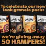 FREE Jordans Granola Hampers - Gratisfaction UK