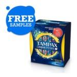 FREE Tampax Compak Pearl - Gratisfaction UK