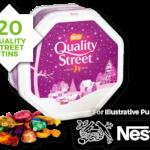 FREE Tin Of Quality Street - Gratisfaction UK
