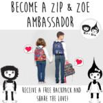 FREE Zip & Zoe Backpack - Gratisfaction UK