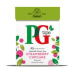 FREE PG Tips Green Tea Strawberry Cupcake - Gratisfaction UK