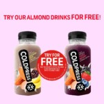 FREE Coldpress Juice Almond Drinks - Gratisfaction UK