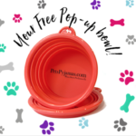 FREE Dog Water Bowl - Gratisfaction UK
