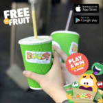 FREE Boost Juice Drinks - Gratisfaction UK