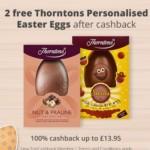 FREE Thorntons Personalised Easter Eggs - Gratisfaction UK