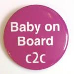 FREE Baby On Board Badge - Gratisfaction UK
