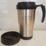 FREE Stainless Steel Travel Mug - Gratisfaction UK