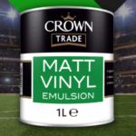 FREE Crown Matt Vinyl Paint - Gratisfaction UK