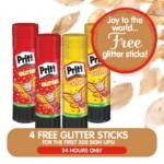 FREE Pritt Glitter Sticks - Gratisfaction UK
