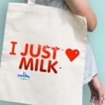 FREE Just Milk Tote Bag - Gratisfaction UK