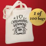 FREE Manuka Honey Tote Bags - Gratisfaction UK