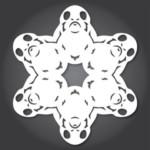 FREE Snowflake Templates - Gratisfaction UK