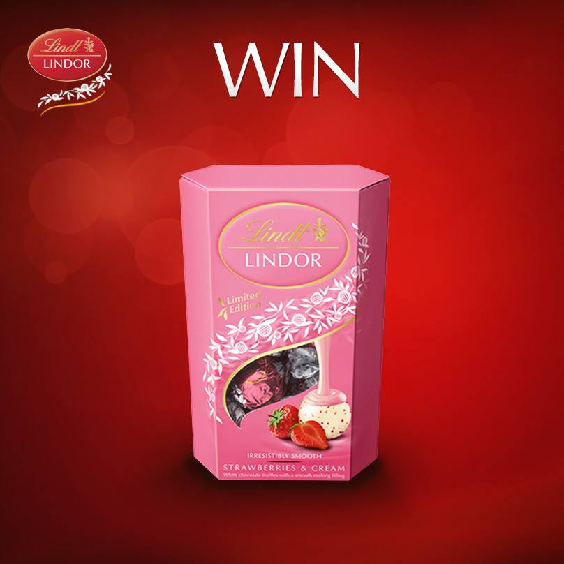 Free Lindt Chocolate Strawberries And Cream Gratisfaction Uk