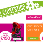 Up to 75% off in the Kiddicare Spring Clearance Sale - Gratisfaction UK