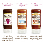 FREE Samples of Sweet Freedom Natural Liquid Chocolate - Gratisfaction UK