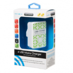 Optimum 4 USB Mains Charger £4.99 In-Store At B&M Stores - Gratisfaction UK