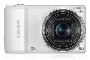 SAVE 63 Samsung WB250F Smart Camera 2.0 NOW £93. Built-In Wi-Fi Connectivity - White (14MP CMOS, 18x Optical Zoom) Gratisfaction UK Flash Bargains
