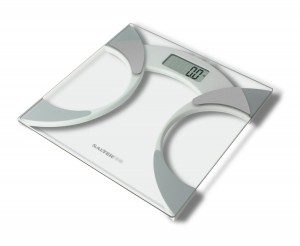 Salter 9141 WH3R Glass Body Fat Analyser Bathroom Scale WAS £34.99 NOW £12.49 Delivered at Amazon - Gratisfaction UK - Flash Bargains