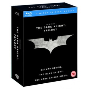 The Dark Knight Trilogy - Batman Blu-ray Boxset £15 delivered at Tesco Direct - Gratisfaction UK - Flash Bargains