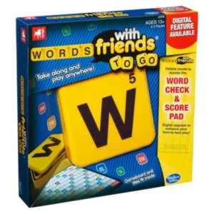 Words with Friends Travel Game £3 at Tesco Direct Gratisfaction UK Flash Bargains